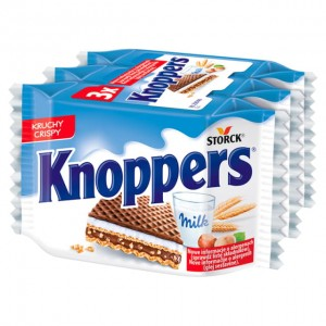 Wafel Knoppers 3x25g Storck