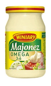 Majonez Winiary omega 3:6 250ml Nestle