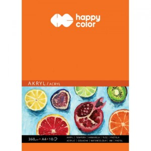 Blok do akryli A4 Happy Color
