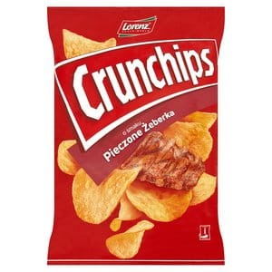 Chipsy Lorenz CrunChips pieczone żeberka 140g