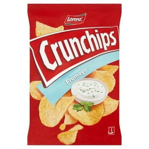 Chipsy Lorenz CrunChips fromage 140g