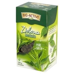 Herbata Big Active 100g zielona Gun Power