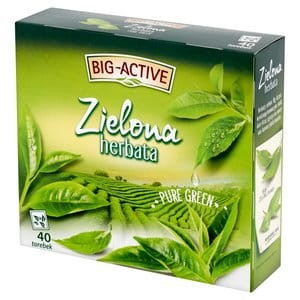 Herbata Big Active 40sasz zielona Gun Powder