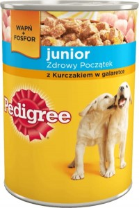 Pedigree pusz 400g junior kurczak