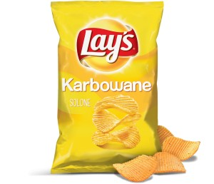 Chipsy Lay's karbowane solone 130g