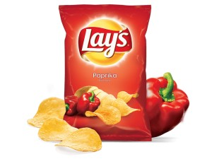 Chipsy Lay's papryka 140g