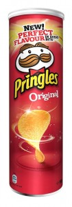 Chipsy Pringles original 165g United