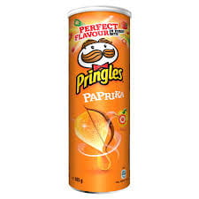 Chipsy Pringles papryka 165g United Distribev