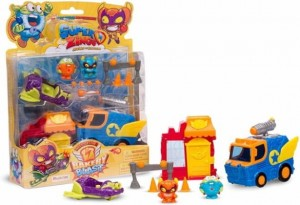 Super Zings Bakery Blast Mission 2 figurki Magicbox