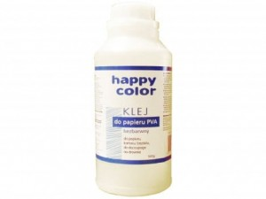 Klej PVA 500g Happy Color